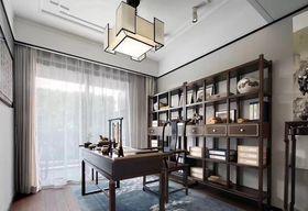 130平米复式中式风格书房效果图