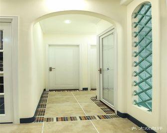 80平米三室两厅混搭风格走廊装修效果图