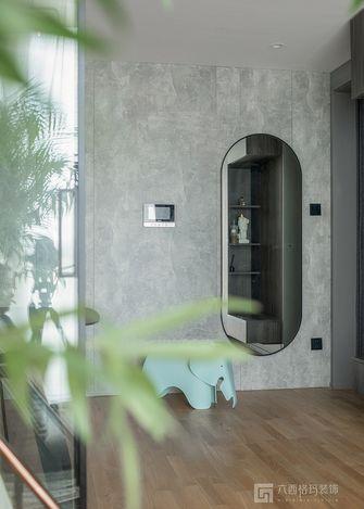 110平米三室两厅现代简约风格玄关效果图