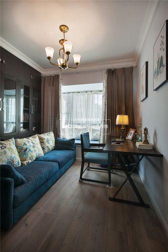 140平米四室两厅美式风格书房装修图片大全
