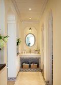 140平米三室两厅地中海风格卫生间装修效果图