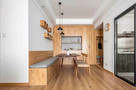 90平米三室两厅宜家风格餐厅欣赏图