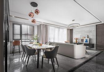 110平米四室一厅现代简约风格餐厅装修图片大全