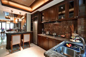 110平米三室一厅东南亚风格餐厅欣赏图
