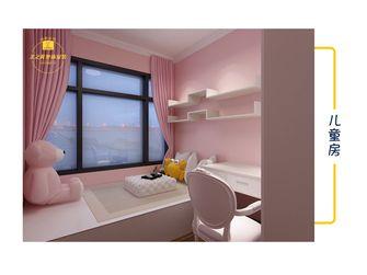 富裕型100平米三室两厅地中海风格儿童房图片