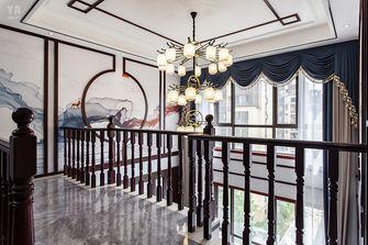 140平米复式中式风格楼梯间图片
