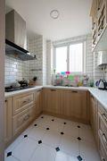 60平米公寓地中海风格厨房设计图