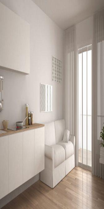 140平米四室一厅欧式风格阳台装修图片大全