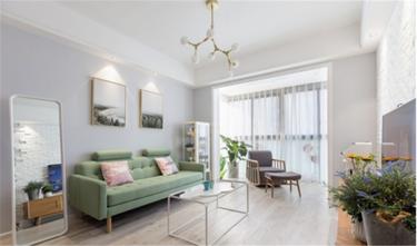 80平米公寓欧式风格客厅装修案例