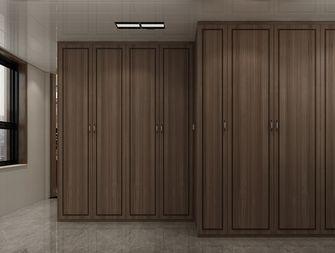 100平米三室两厅中式风格衣帽间装修案例