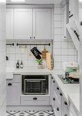 90平米地中海风格厨房设计图