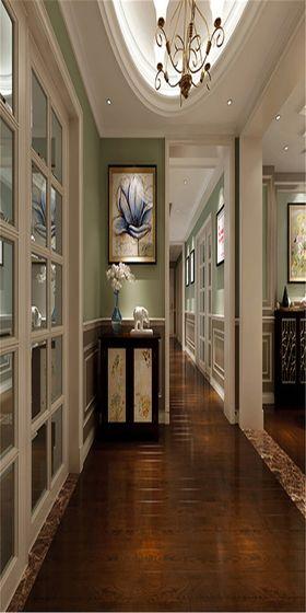 140平米四美式風格走廊圖片大全