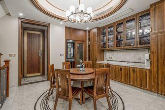 140平米四室四厅中式风格餐厅欣赏图