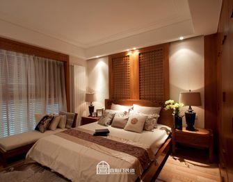 140平米四室两厅东南亚风格卧室设计图