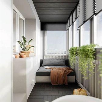 70平米一室一厅现代简约风格阳台效果图