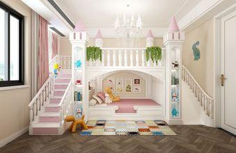 140平米复式中式风格儿童房装修效果图