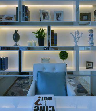 60平米一居室欧式风格书房设计图