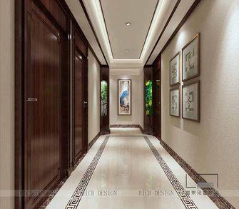 140平米三室一厅中式风格玄关欣赏图