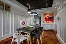120平米三室两厅混搭风格餐厅欣赏图
