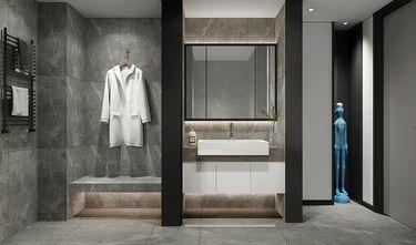 110平米公寓现代简约风格卫生间欣赏图