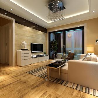 70平米三室两厅现代简约风格阁楼图