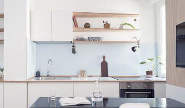140平米三中式风格厨房欣赏图