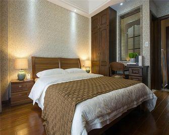 100平米三室一厅中式风格卧室装修效果图