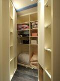 90平米三室两厅地中海风格衣帽间装修案例