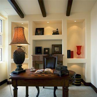 80平米三室两厅地中海风格书房图片