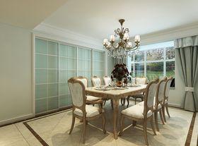 140平米四室兩廳歐式風格餐廳圖片
