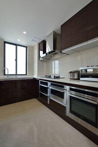 富裕型140平米三室两厅中式风格厨房装修案例