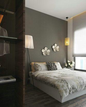 110平米三室一厅中式风格卧室装修图片大全