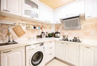 60平米三室一厅田园风格厨房装修图片大全