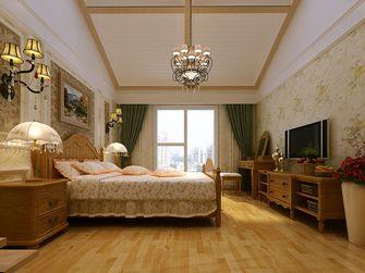 富裕型140平米四室三厅田园风格卧室效果图