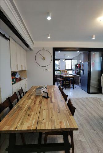 80平米现代简约风格餐厅效果图