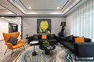 5-10万140平米三室一厅其他风格客厅装修图片大全