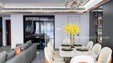 140平米三室三厅宜家风格餐厅装修效果图