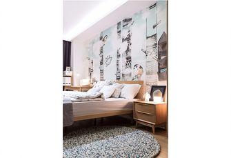 140平米四室一厅宜家风格卧室图