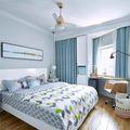 70平米田园风格卧室效果图