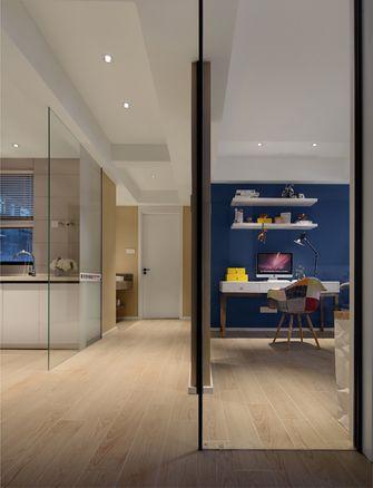 80平米三室两厅中式风格玄关装修效果图