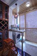 120平米三室两厅东南亚风格阳台设计图