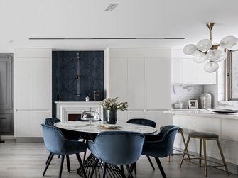 80平米一室一厅法式风格餐厅设计图