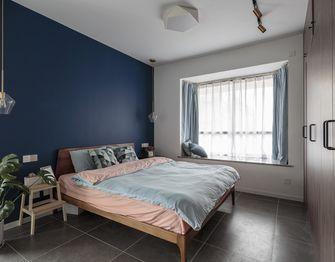 60平米一居室混搭风格卧室图片大全