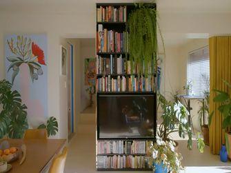 40平米小户型田园风格书房图