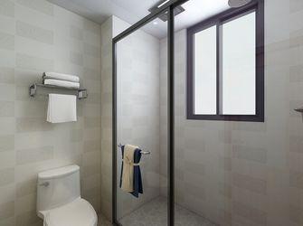110平米现代简约风格卫生间设计图