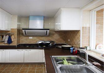 80平米田园风格厨房图片大全
