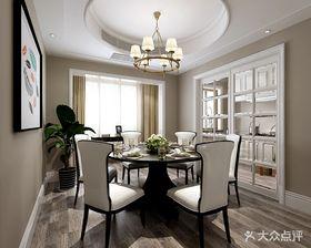 140平米別墅現代簡約風格餐廳欣賞圖