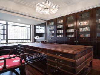 140平米四室五厅现代简约风格书房图片