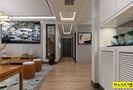130平米三室一厅中式风格玄关装修效果图