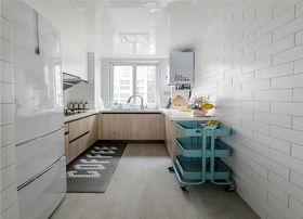 90平米三北歐風格廚房裝修效果圖